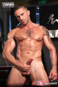 Christian Wilde fuck Jake Genesis gay hot daddy dude men porn truck